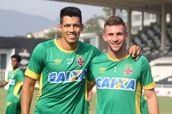 Julio dos Santos e Bruno Gallo