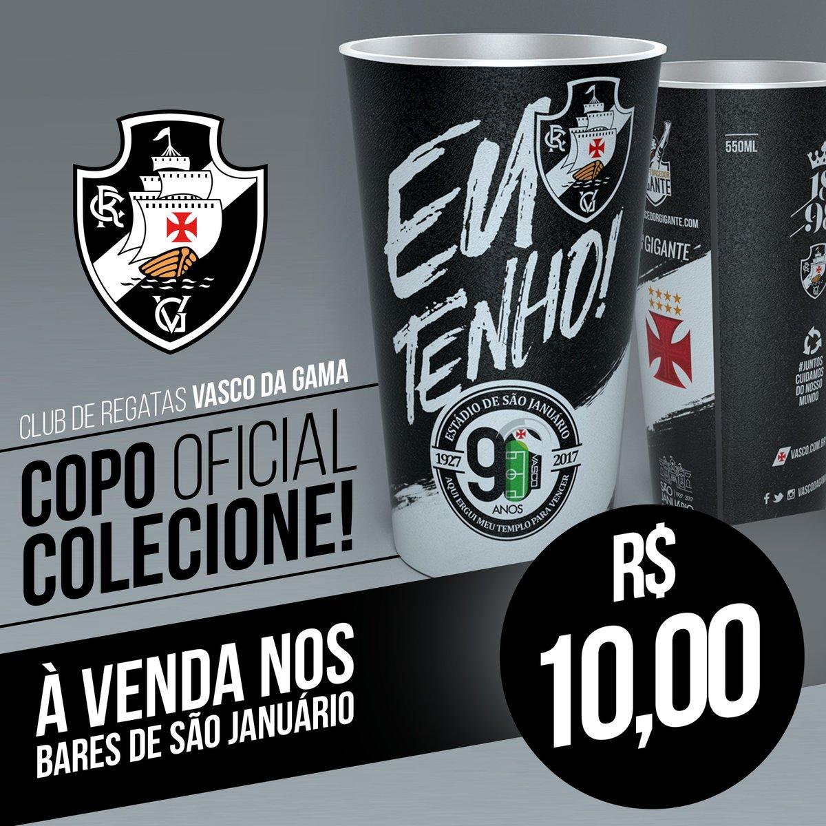 Vasco News - Vasco Minha Vida  Copo comemorativo dos 90 anos de São ... 9eab48ce04f0a