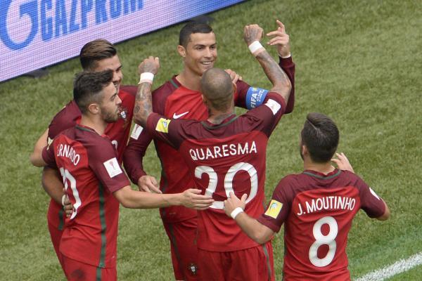 Cristiano Ronaldo, de pênalti, abriu o caminho para a vitória portuguesa