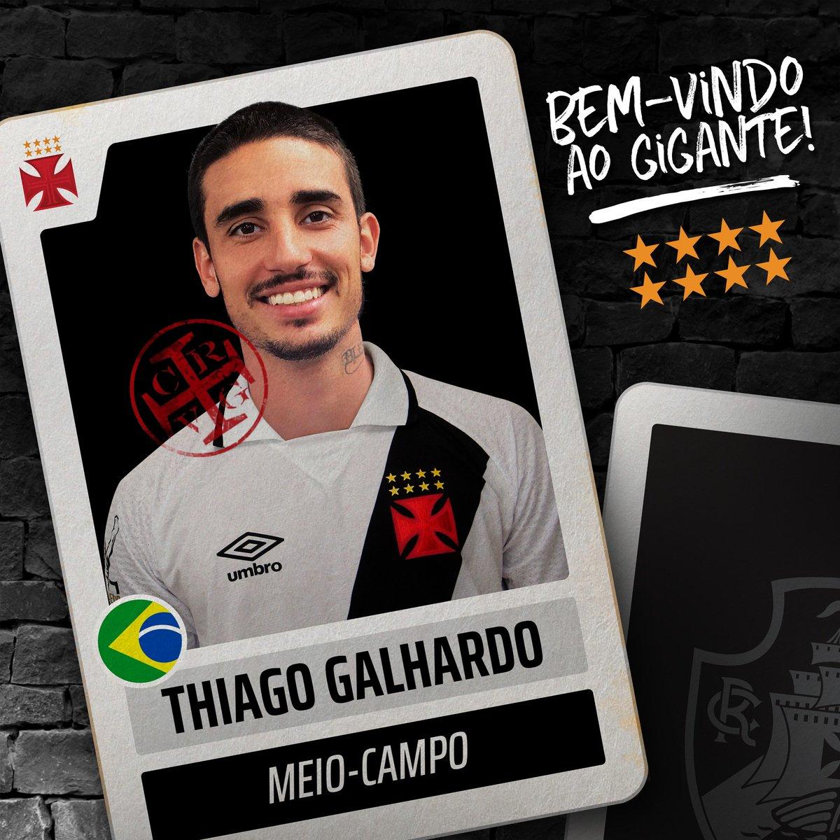 Vasco oficializa contratação de Thiago Galhardo em rede social ... 078b7e0b994be