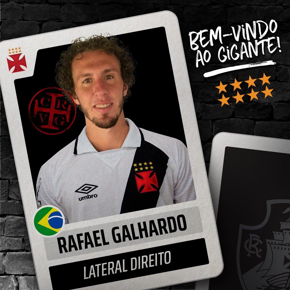 d8abe8b8cf Vasco anuncia as contratações de Rafael Galhardo e Erazo
