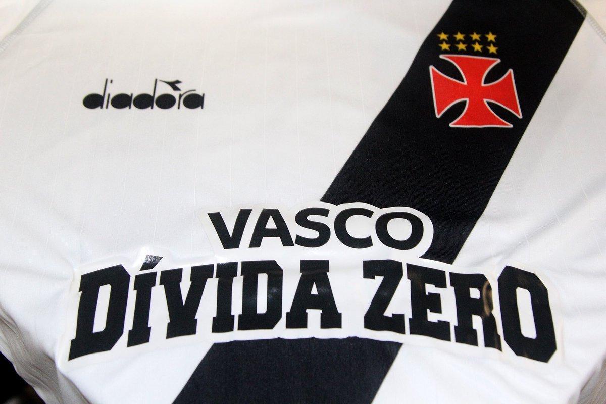 df5987cdea Veja a nova marca da campanha Vasco Dívida Zero