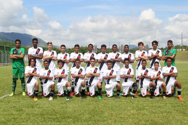 Elenco do sub-15 vascaíno