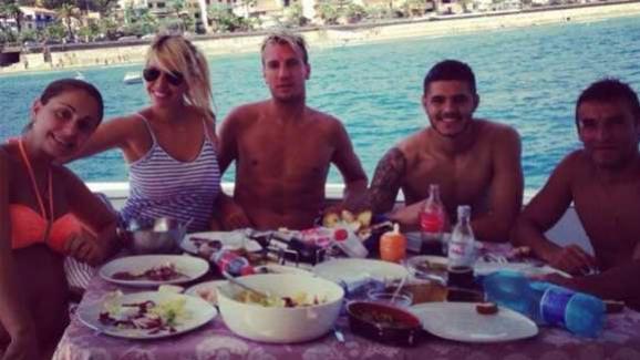 Wanda e Maxi - ainda juntos - chegaram a passar férias com Icardi