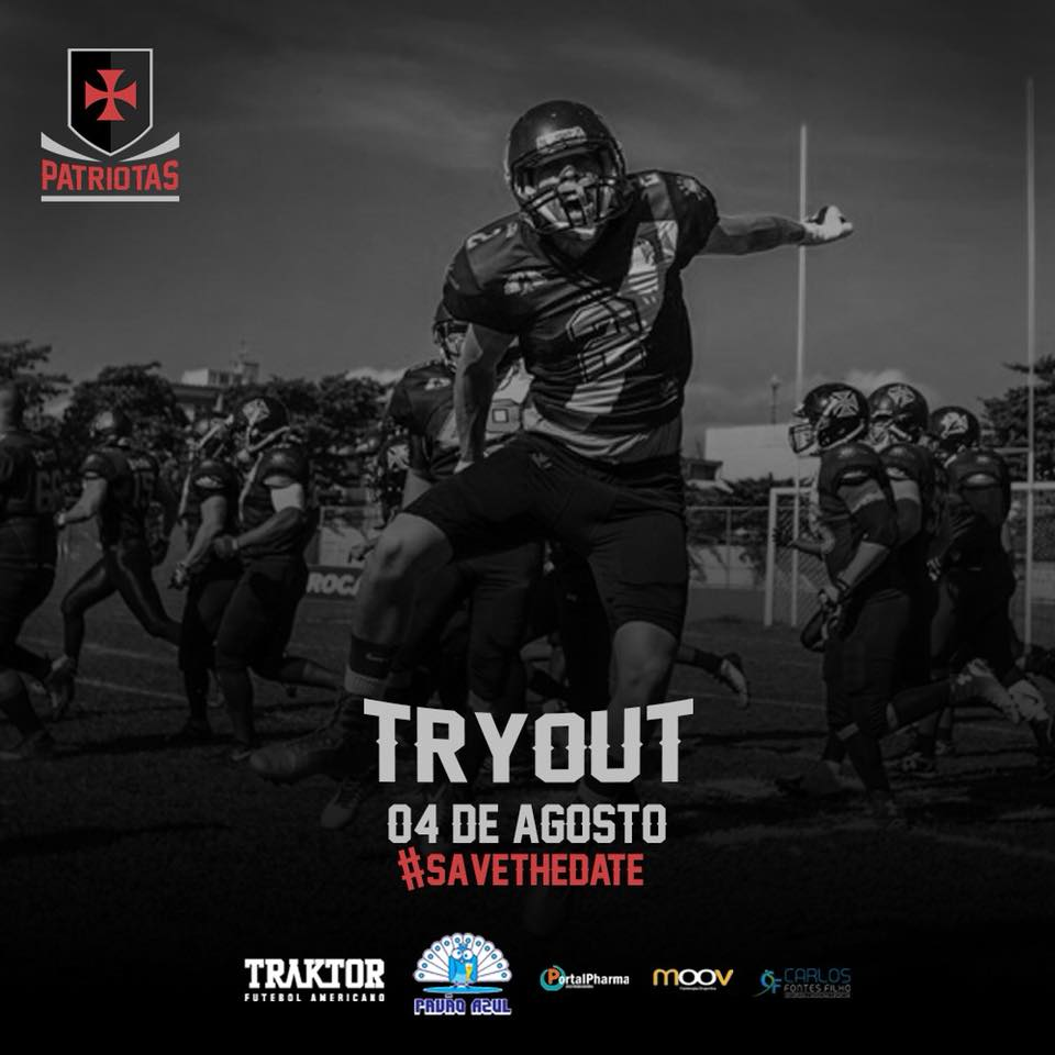 2ae6feda1b Futebol Americano  Vasco fará tryout no dia 04 08 no Aterro do ...