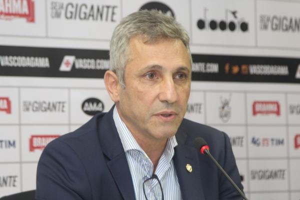 Alexandre Campello negocia patrocínio máster para o Vasco