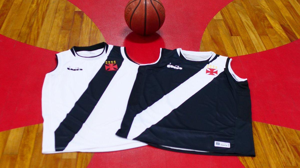 f741428acb929 Basquete  Vasco divulga fotos dos novos uniformes  confira