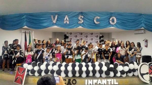 Projeto Coração Infantil é uma iniciativa de vascaínos da cidade de Patos, sede escolhida pelo Vasco para sediar embaixada