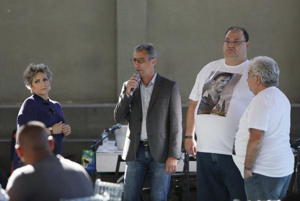 Sônia Andrade, Alexandre Campello, Marcos Macedo e José Pinto Monteiro