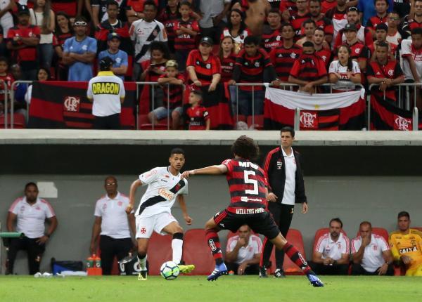 Marrony disputou o Clássico dos Milhões em Brasília