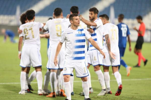 Wagner em campo pelo Al-Khor. Adaptação ao futebol do Qatar foi bem rápida