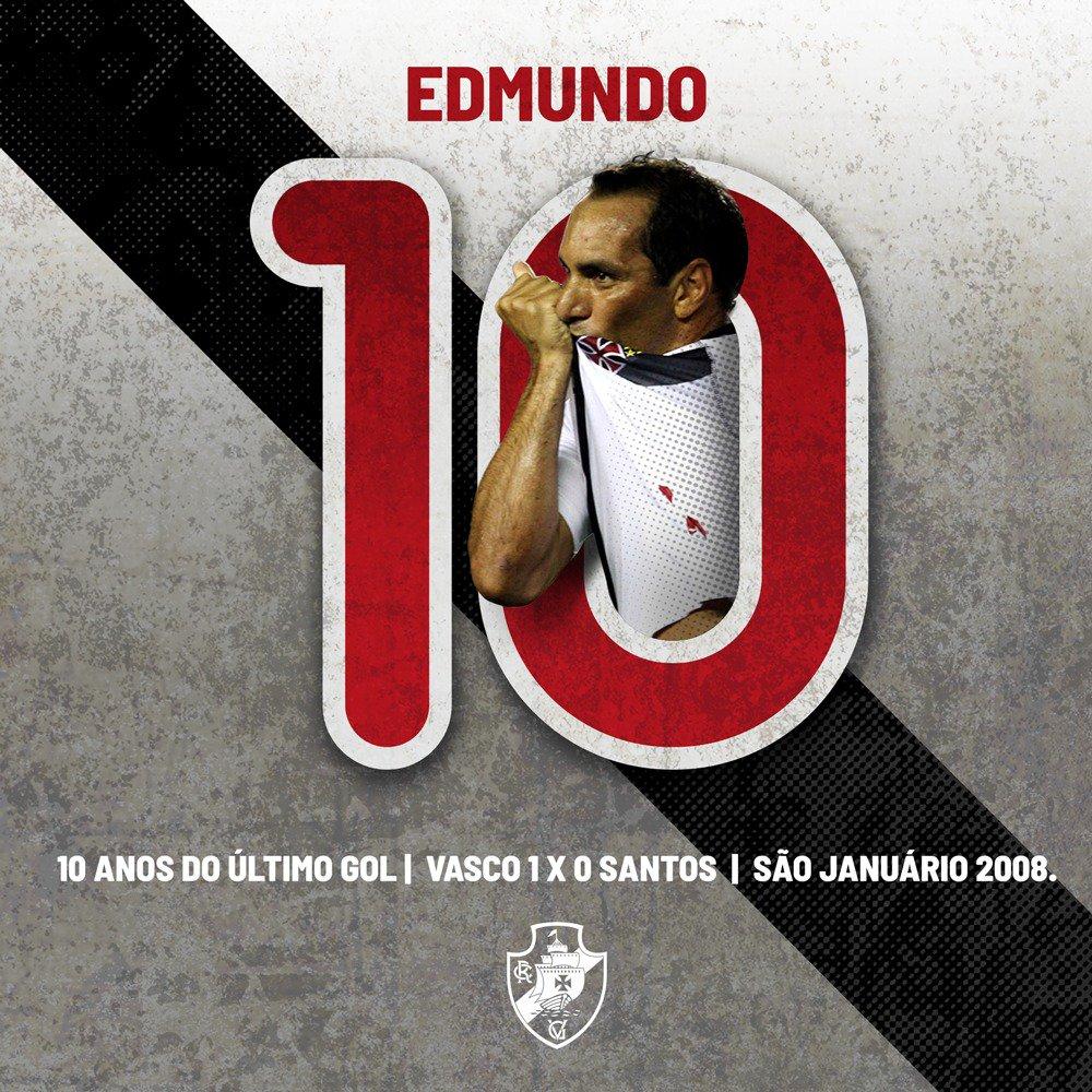 Veja imagem feita pelo Vasco em homenagem aos 10 anos do último gol ... 951625eb1191b