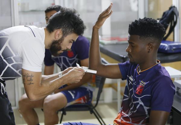 Jogadores do Sub-20 fizeram avaliação fisiológica nesta terça-feira