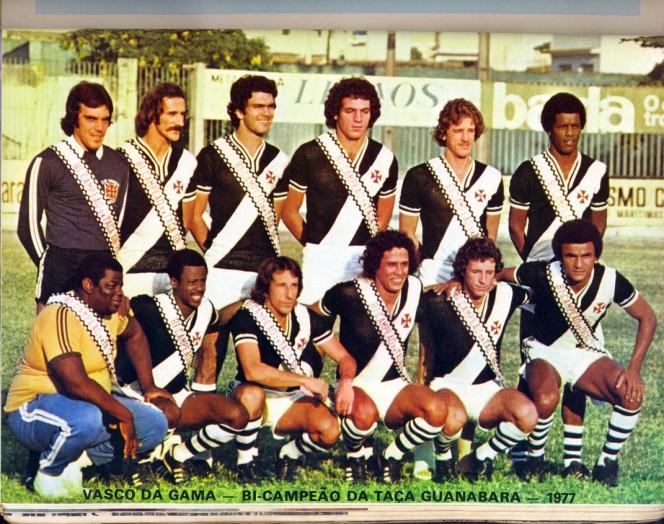 O Vasco de 1977 passou por Juazeiro antes de ser campeão carioca