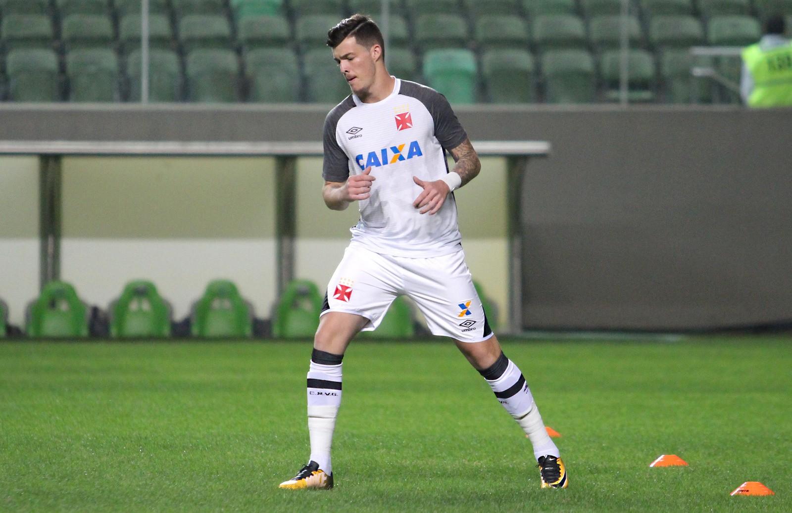 Com contrato com o Sporting, Bruno Paulista jogou no Vasco entre 2017 e 2018