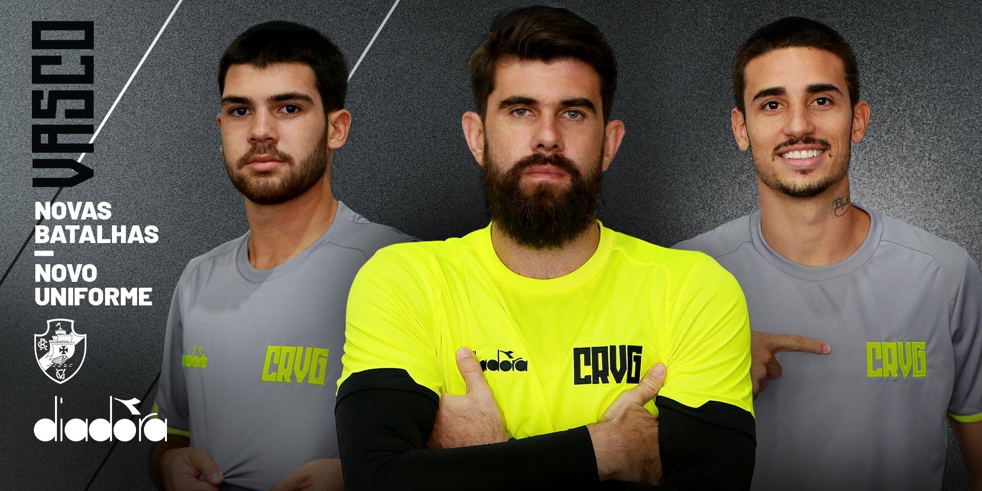 Novas camisas de treino do Vasco