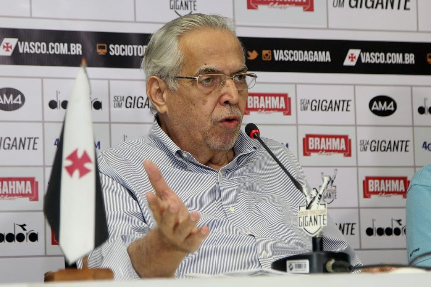 O ex-presidente do Vasco Eurico Miranda