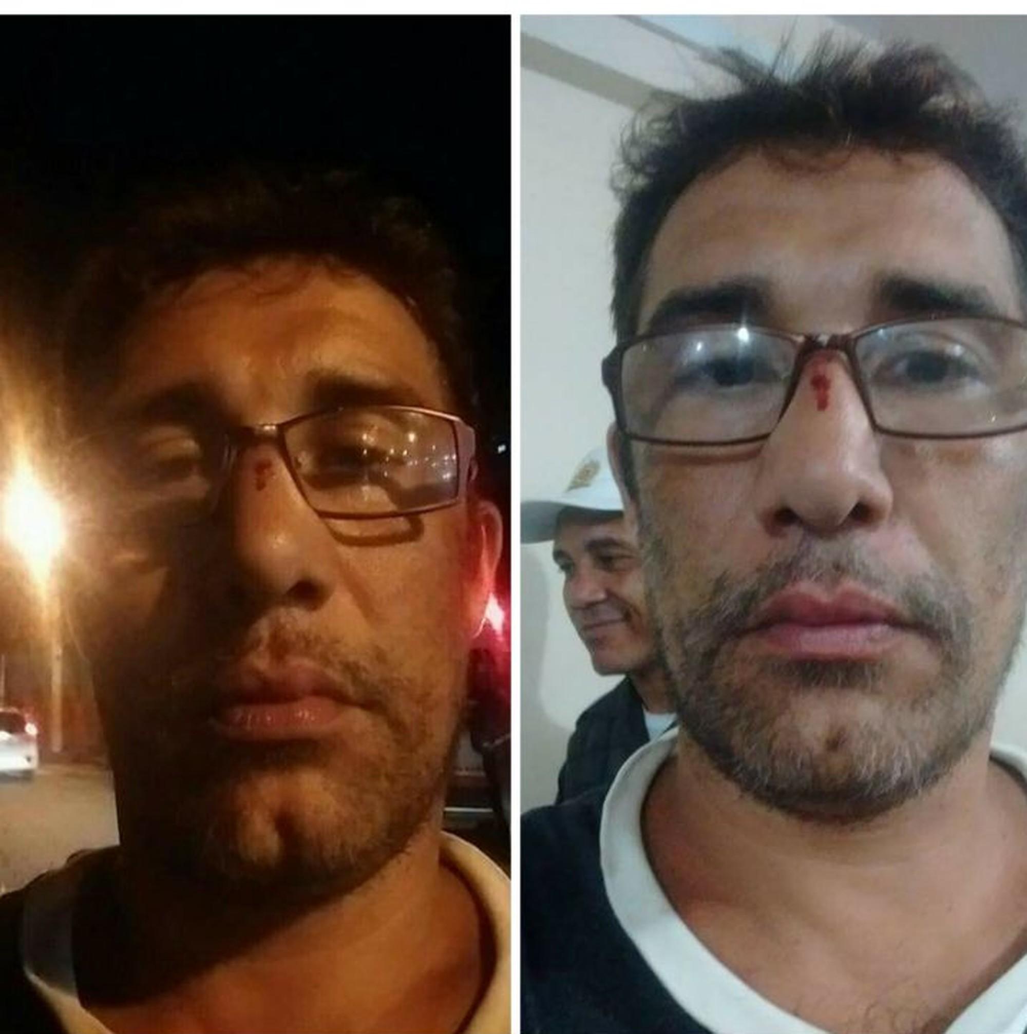 Torcedor diz ter sido agredido por dirigente do Vasco
