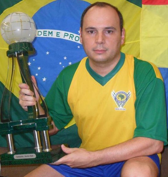 Marcelo Lages no Mundial de Sectorball de 2012
