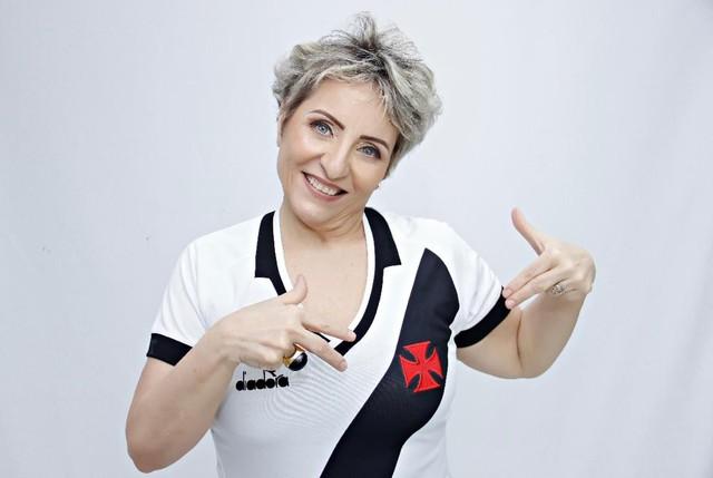 Sonia Andrade é a segunda vice-presidente do Vasco e idealizou o setor psicossocial do clube