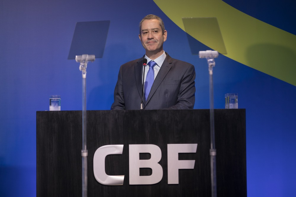 Rogério Caboclo presidente CBF