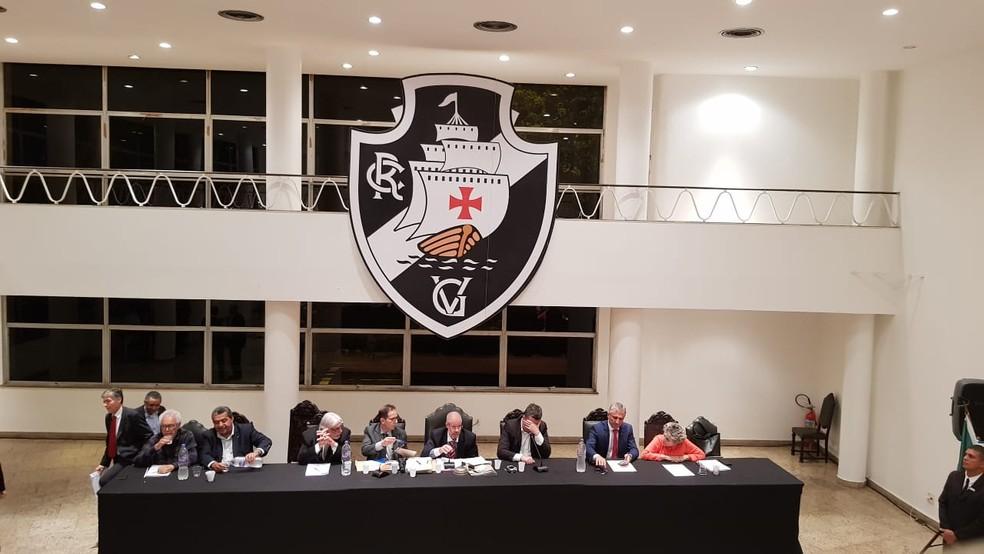 Votação reforma do Estatuto do Vasco pautou sessões do Conselho no começo do ano