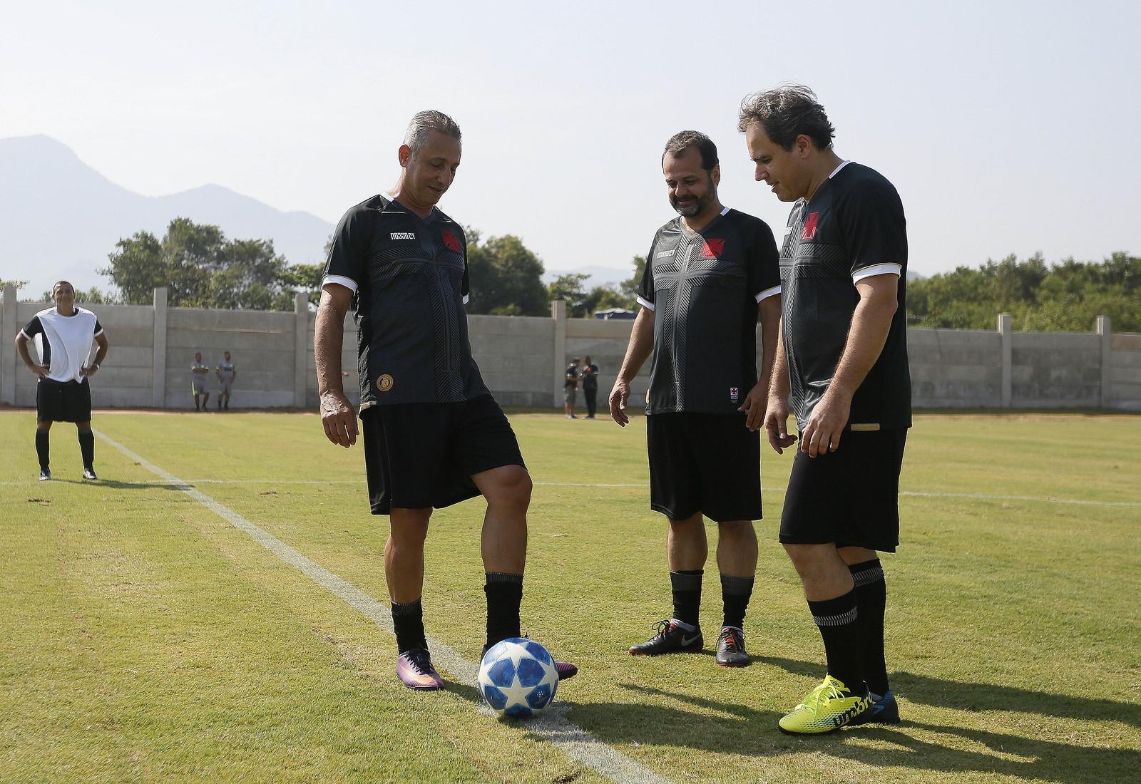 Pontapé inicial foi dado por Campello, Pedro Seixas e Alexandre Isquierdo