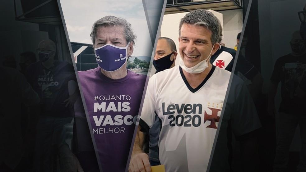 Jorge Salgado e Leven Siano disputam a presidência do Vasco