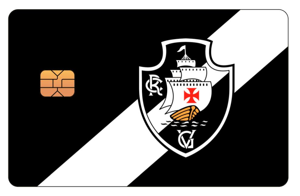 Adesivo escudo do Vasco