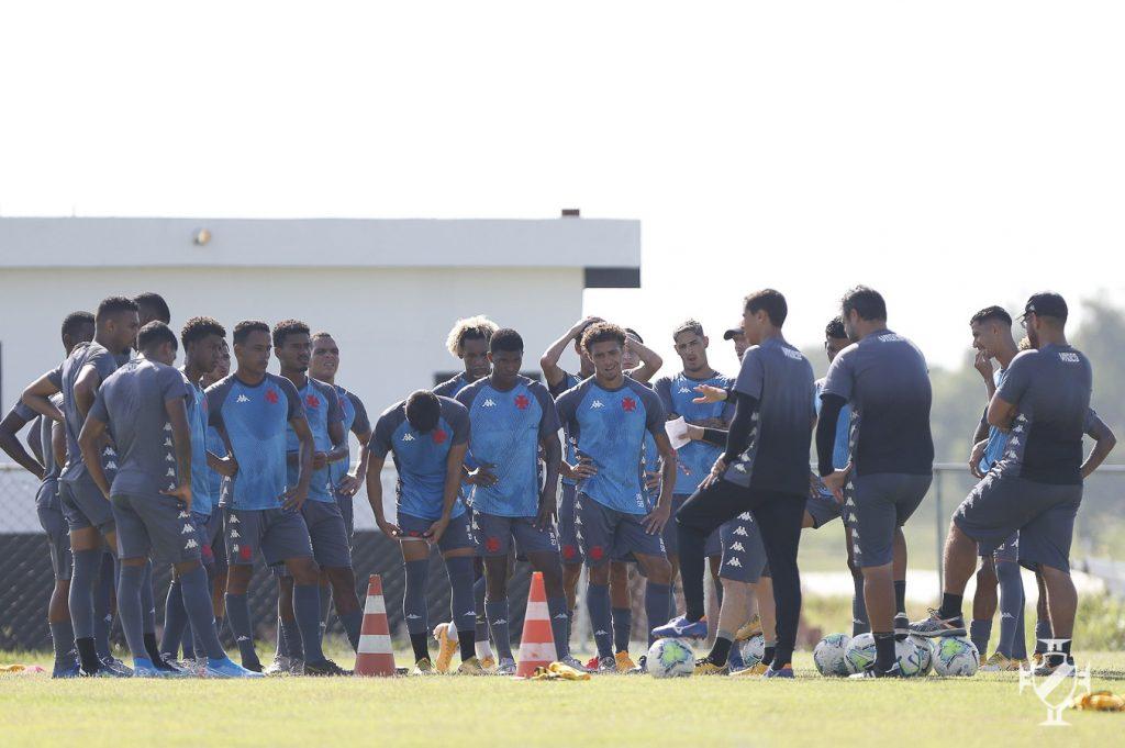 Elenco sub-20 do Vasco treinou nessa semana visando a final.