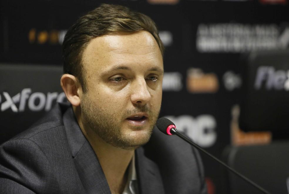 André Mazzuco, executivo de futebol do Vasco, foi um dos responsáveis por montar o atual elenco