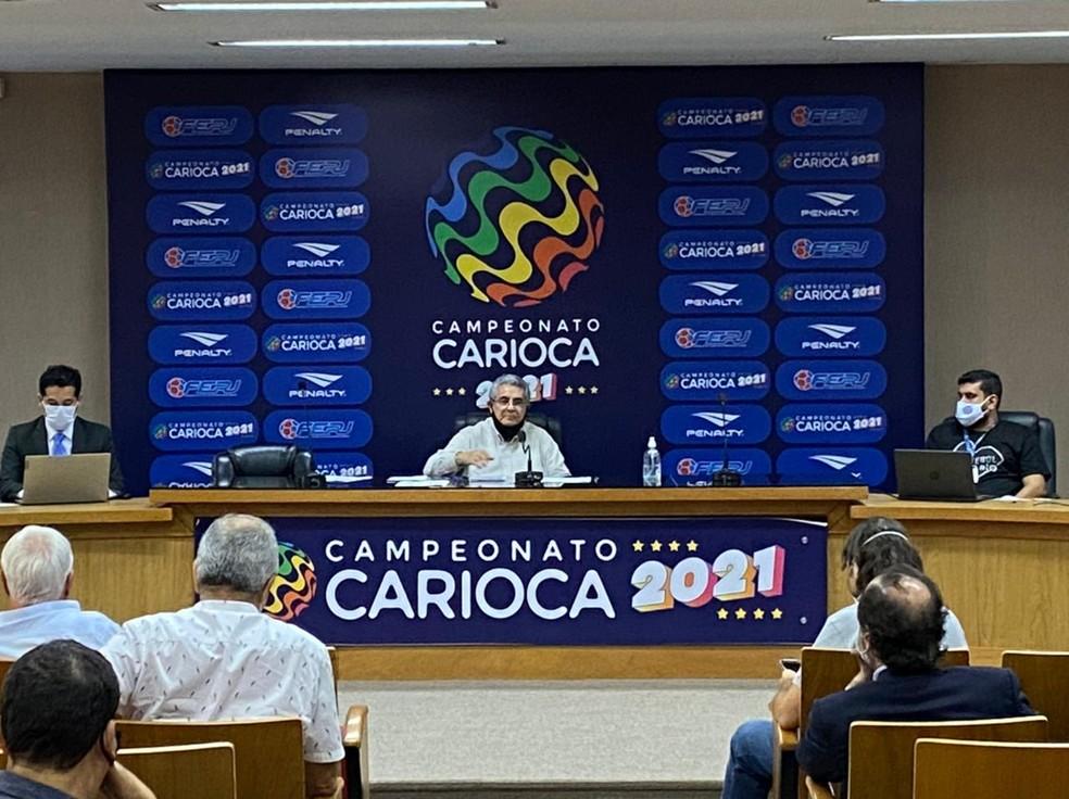 Reunião arbitral do Campeonato Carioca de 2021