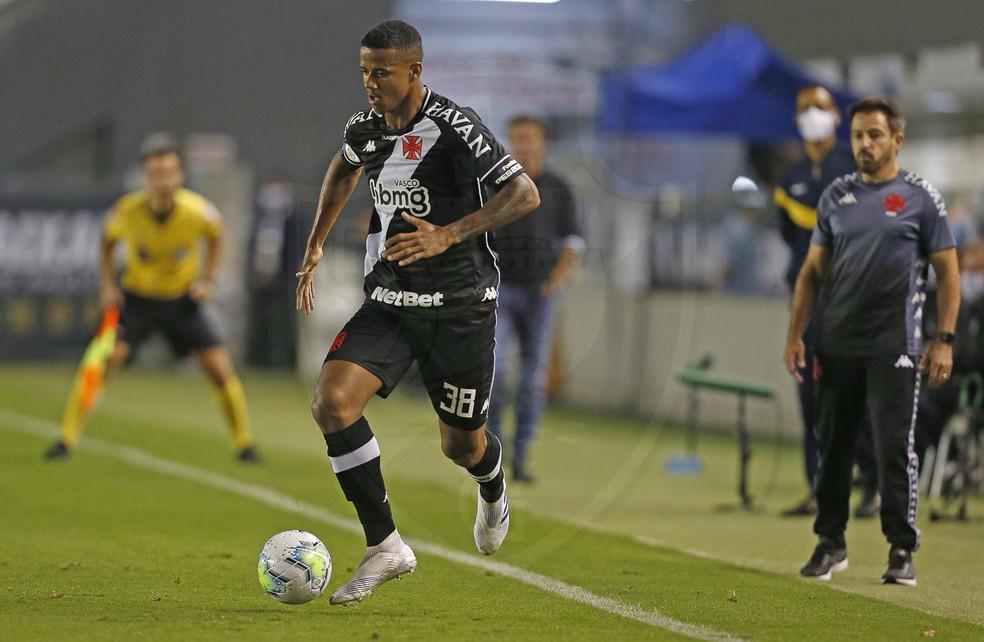 Ygor Catatau Vasco x Santos