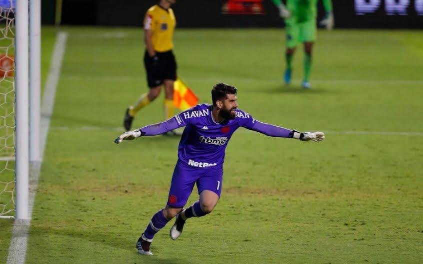 Fernando Miguel durante passagem pelo Vasco