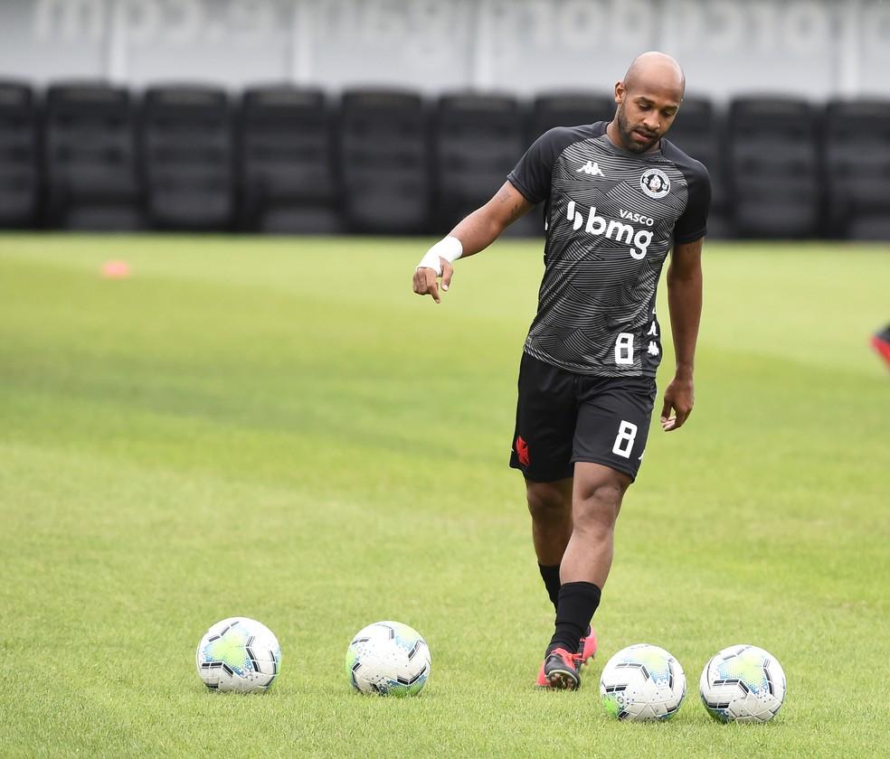 Fellipe Bastos encerrou passagem pelo Vasco em dezembro