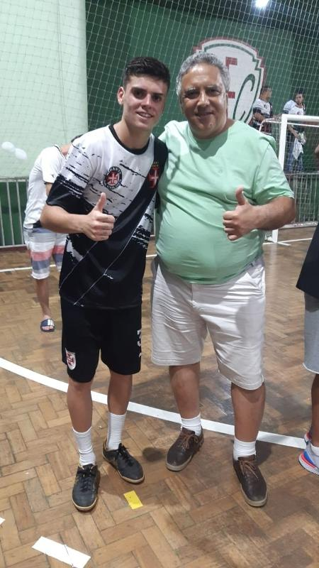 Gabriel Pec e Robson Ferreira: relação se tornou como se fosse entre sobrinho e tio