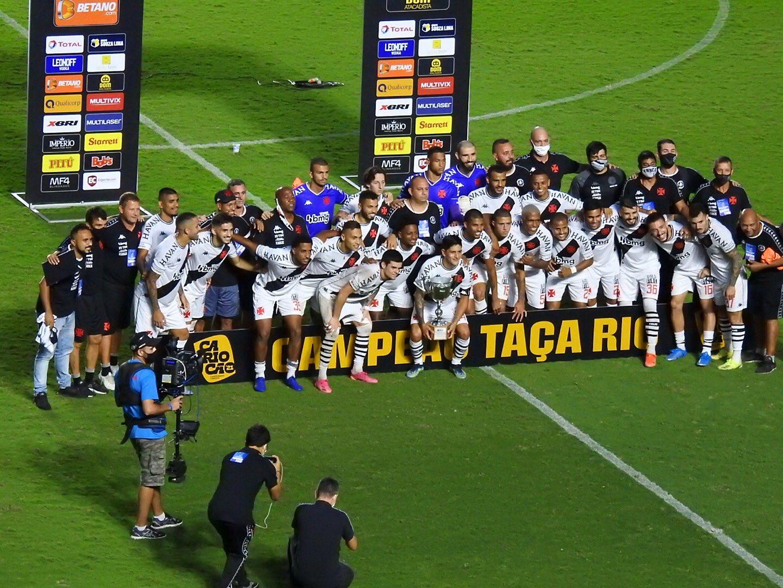 Vasco campeão da Taça Rio 2021