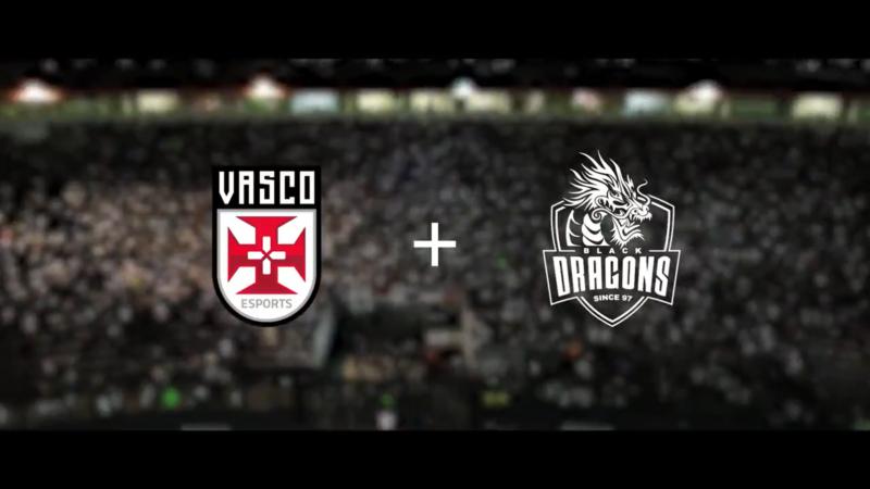 Vasco e Black Dragons firmam parceria para o esporte eletrônico.