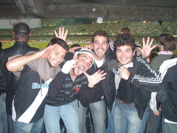 Rafael Sadala, Bernardo Santos, Paulo Eduardo e Fanor Marques viveram uma verdadeira epopeia em Curitiba.