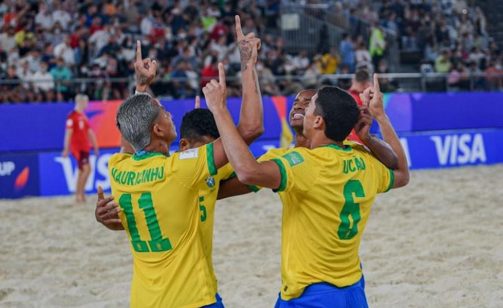 Brasil na Copa do Mundo de Futebol de Areia