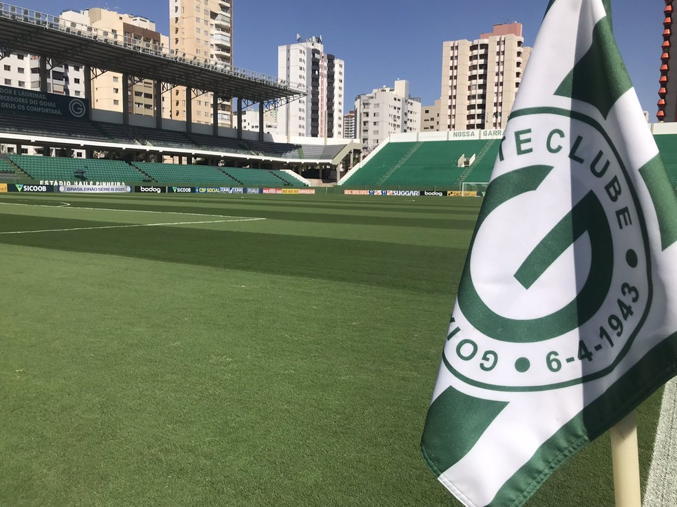 Serrinha já deverá ter público no jogo entre Goiás e Brasil de Pelotas, sábado