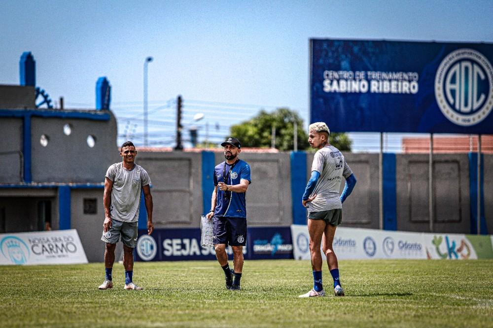 Equipe finaliza preparação para encara o Vasco